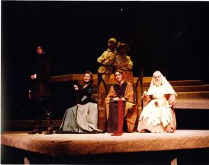 Primary view of object titled '[Six Actors in Man of La Mancha, 1990]'.