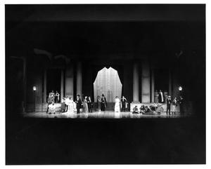 Primary view of object titled '[Group Photograph from My Fair Lady, 1977 #4]'.