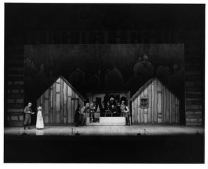 Primary view of object titled '[Shop Scene in Fiddler on the Roof, 1972]'.
