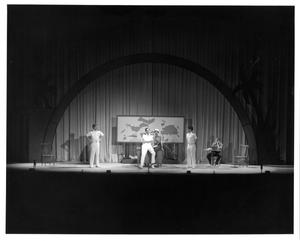 Primary view of [Captain's Office in South Pacific Musical]