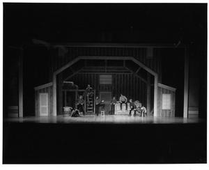 Primary view of object titled '[The Brothers Discuss the Brides in the Barn in Seven Brides for Seven Brothers #2]'.