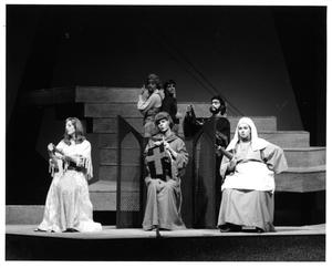 Primary view of object titled '[Group Photograph from Man of La Mancha, 1974 #6]'.