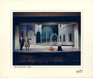 Primary view of object titled '[Act 1, Scene 1 of My Fair Lady, 1964]'.