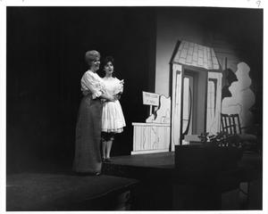 Primary view of object titled '[Donna Rankin and Jane Bacon in The Music Man, 1963]'.