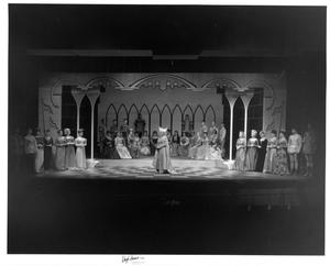 Primary view of object titled '[Jackie Smith in Camelot]'.