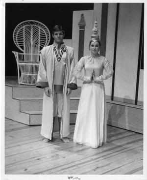 Primary view of object titled '[Two Actors in The King and I #2]'.