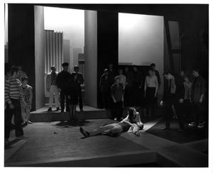 Primary view of object titled '[Death Scene in West Side Story #4]'.