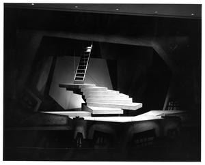 Primary view of object titled '[Stage Design of Man of La Mancha, 1974 #4]'.
