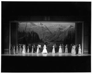 Primary view of object titled '[Wedding Scene in Seven Brides for Seven Brothers #5]'.