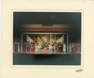 Primary view of object titled '[Group Photograph from Kiss Me, Kate #2]'.