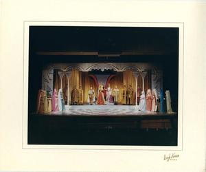 Primary view of object titled '[Twenty-One People in Camelot]'.