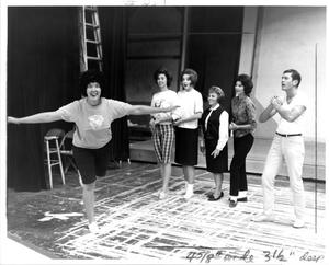 Primary view of object titled '[Production Photograph from The Music Man, 1963 #4]'.