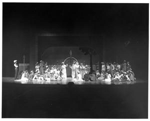 Primary view of object titled '[Group Photograph from The Music Man, 1979 #4]'.