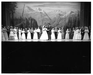 Primary view of object titled '[Wedding Scene in Seven Brides for Seven Brothers #4]'.