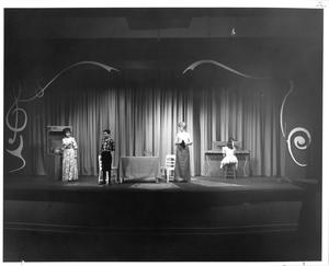 Primary view of object titled '[Photograph from The Music Man, 1963 #3]'.