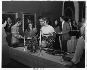 Primary view of object titled '[Fiddler on the Roof Cast Party, 1972]'.