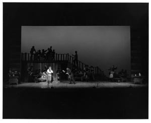 Primary view of object titled '[Inn Scene in Fiddler on the Roof, 1972]'.