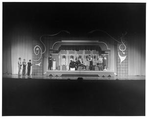 Primary view of object titled '[Act 1, Scene 1 of The Music Man, 1979]'.