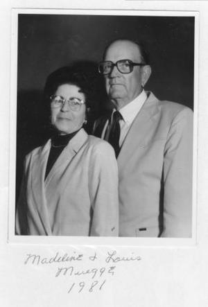 [Madeline and Louis Muegge in 1981]