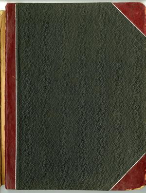 Primary view of object titled '[Abilene City Federation of Women's Clubs Minutes: 1905 - 1906]'.
