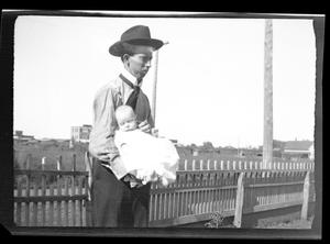 [Thomas H. Taylor with Daughter]