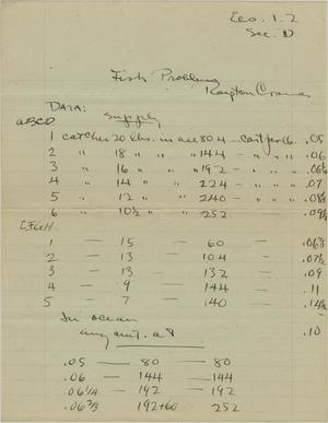 Primary view of object titled 'Roy Crane Economics Paper'.