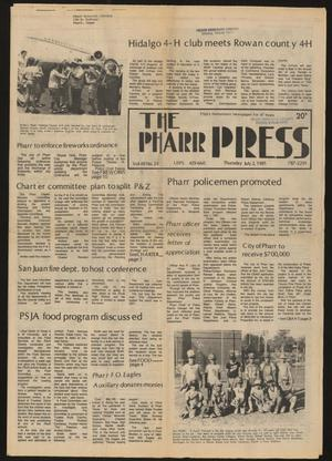 Primary view of object titled 'The Pharr Press (Pharr, Tex.), Vol. 49, No. 23, Ed. 1 Thursday, July 2, 1981'.