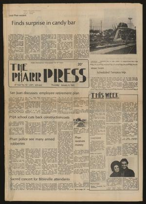 Primary view of object titled 'The Pharr Press (Pharr, Tex.), Vol. 47, No. 50, Ed. 1 Thursday, January 8, 1981'.