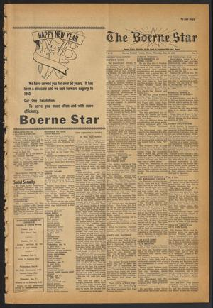 Primary view of object titled 'The Boerne Star (Boerne, Tex.), Vol. 55, No. 3, Ed. 1 Thursday, December 31, 1959'.