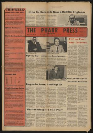 Primary view of object titled 'The Pharr Press (Pharr, Tex.), Vol. 46, No. 6, Ed. 1 Thursday, February 8, 1979'.