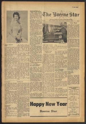 Primary view of object titled 'The Boerne Star (Boerne, Tex.), Vol. 56, No. 4, Ed. 1 Thursday, December 29, 1960'.