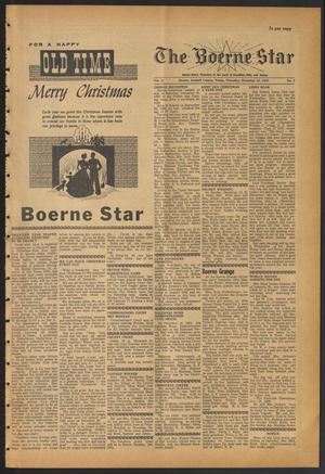 Primary view of object titled 'The Boerne Star (Boerne, Tex.), Vol. 55, No. 2, Ed. 1 Thursday, December 24, 1959'.