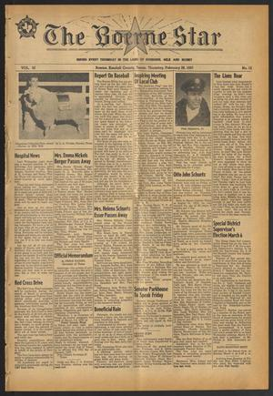 Primary view of object titled 'The Boerne Star (Boerne, Tex.), Vol. 52, No. 12, Ed. 1 Thursday, February 28, 1957'.