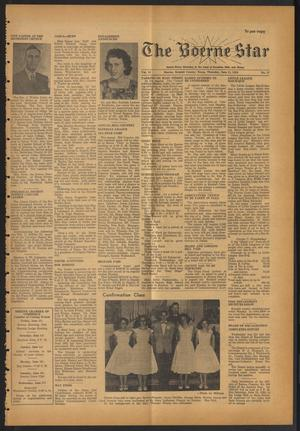 Primary view of object titled 'The Boerne Star (Boerne, Tex.), Vol. 54, No. 27, Ed. 1 Thursday, June 11, 1959'.