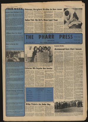 Primary view of object titled 'The Pharr Press (Pharr, Tex.), Vol. 46, No. 8, Ed. 1 Thursday, February 22, 1979'.