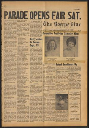 Primary view of object titled 'The Boerne Star (Boerne, Tex.), Vol. 56, No. 39, Ed. 1 Thursday, August 31, 1961'.