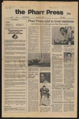 Primary view of object titled 'The Pharr Press (Pharr, Tex.), Vol. 51, No. 1, Ed. 1 Thursday, January 6, 1983'.