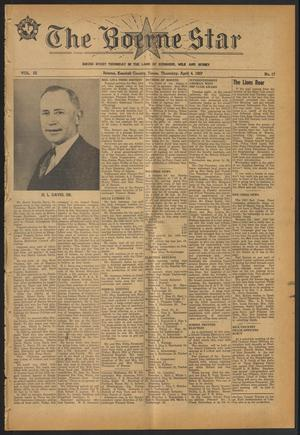 Primary view of object titled 'The Boerne Star (Boerne, Tex.), Vol. 52, No. 17, Ed. 1 Thursday, April 4, 1957'.
