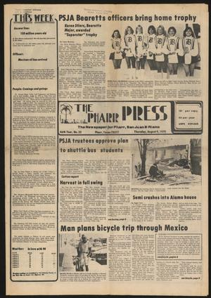 Primary view of object titled 'The Pharr Press (Pharr, Tex.), Vol. 46, No. 32, Ed. 1 Thursday, August 9, 1979'.