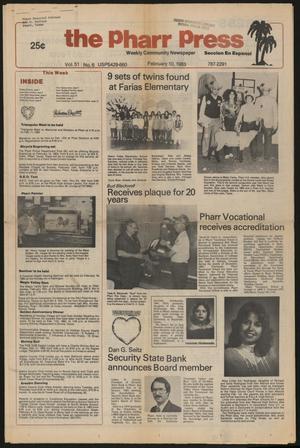 The Pharr Press (Pharr, Tex.), Vol. 51, No. 6, Ed. 1 Thursday, February 10, 1983