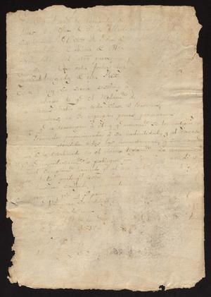 Primary view of [Repeated Decree from Comandante Corregidor]