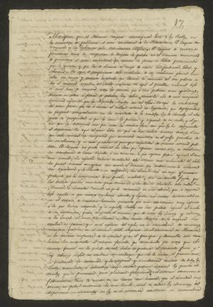Primary view of object titled '[Manifest from the Mexican Congress]'.