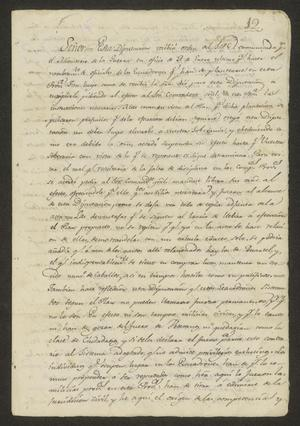 Primary view of object titled '[Statement from the Provincial Assembly]'.