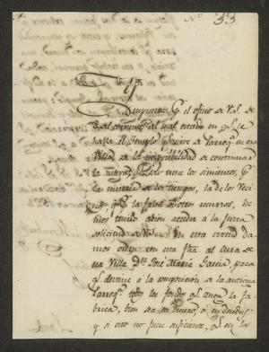 Primary view of object titled '[Letter from José Vivero and Pedro de Hombre to the Laredo Ayuntamiento, May 26, 1824]'.