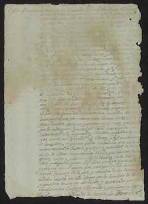 Primary view of [Unknown and Faded Copy of a Previous Document]