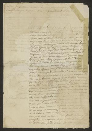 Primary view of object titled '[Land Dispute between Two Individuals]'.