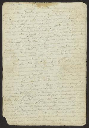 Primary view of object titled '[Account from General Arredondo of Victory Against Texas Rebels]'.