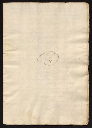 Primary view of object titled '[Documents for a Case between Gabriel de Tovar and Rafael López de Oropeza]'.