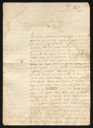 Primary view of object titled '[Correspondence between Officials Concerning School]'.