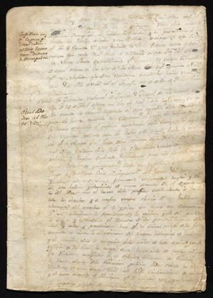Primary view of [Documents Concerning Foreign and Government Topics]